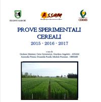 Cereals experimental trials 2015-2017