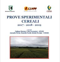 Cereals experimental trials 2017-2019